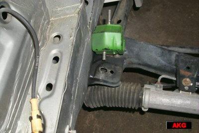 US M50 Motor into e30 Chassis Motor Mounts - AKG Motorsport