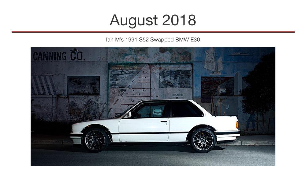 Ian M's S52 Swapped E30